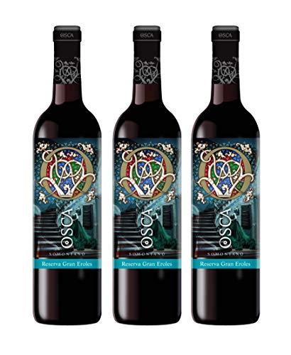 Vino Tinto Reserva Gran Eroles Osca pack 3 botellas 2015