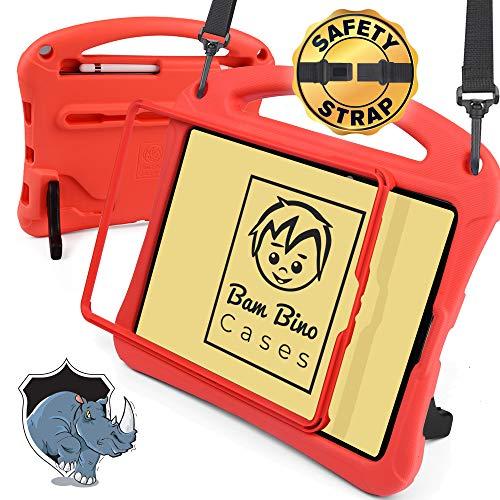 Bam Bino Rhino [Funda para niños Funda para iPad 10.2 2019 iPad 7, iPad Pro...