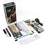 3Doodler Create+ 3D Printing Pen for Teens, Adults & Creators! - Full Grain Leather (2019 Model, Deluxe Set) - with Free Refill Filaments + 6 Nozzles + Mini DoodlePad