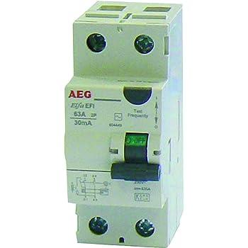 Legrand LEG92837 Interrupteur diff/érentiels dx bornes /à vis 2p 230 V~ 63 A type A 30 ma d/épart bas