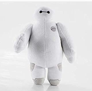 N-L Cartoon Movie Baymax Plush Dolls Stuffed Toys Big Hero 6 Baby Toys Baymax Plush Movable Hands Doll Kids Gifts 20Cm