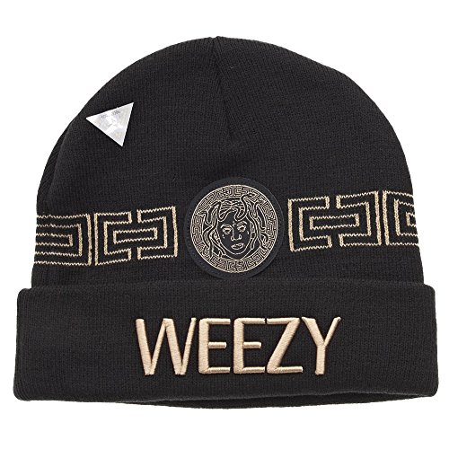Cayler and Sons Goldie Beanie Bonnet Black Gold
