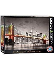 Eurographics 1000 stuks - New York City Brooklyn Bridge