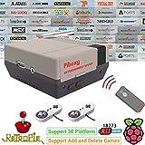 Raspberry Pi 3B+ (B Plus) Arcade Full Kit 128GB SD Card with 18000+ Games Arcade RetroPie Emulation Station ES...