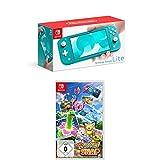 Nintendo Switch Lite, Standard, türkis-blau + New Pokémon Snap [Nintendo Switch]