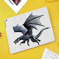"Apple iPad Pro 10.5"" 2017 ケース 10.5"" New iPad Air (3rd) 2019 2017新10.5インチiPad Pro専用 超薄型軽量 スタンドスマートケース 自動スリープ/ウェイク機能付きファンタスティッククリーチャーフライングデジタルエフェクト注目の伝説の翼イラストレーション"
