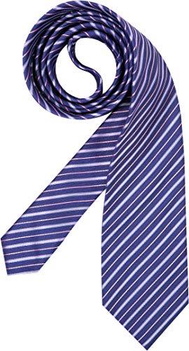 Hugo Boss Herren Krawatte Herren-Accessoire College-Streifen Blau Onesize