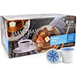 Day To Day Coffee Pods, Compatible with Keurig 2.0 Brewers, Box of 120 Count Breakfast Blend Medium Roast Single Serve Pods