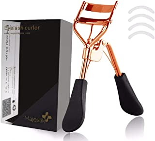 Eyelash Curler With 4 Refill Pads- Designed for No Pinching
