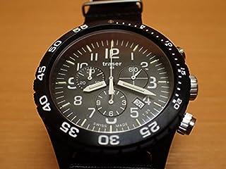 トレーサー腕時計 traser 時計 Officer Chronograph Pro P6704.4A3.I2.01 メンズ 【正規輸入品】 迷彩 カモフラージュ レザーバンド プレゼント付き