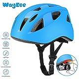 WayEee Casco Bici per Bambini Regolabile Casco Bicicletta Bambini Casco Protettivo Ideale per...