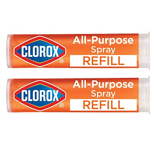 Clorox All-Purpose Cleaning Refill Cartridge for Clorox All-Purpose Cleaning System, Two Refill Cartridges - 0.66 Ounces (Package May Vary)