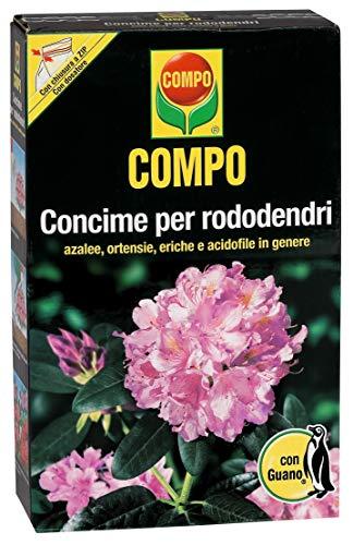 COMPO Concime per Rododendri, Con Guano, Con misurino dosatore, 3 kg