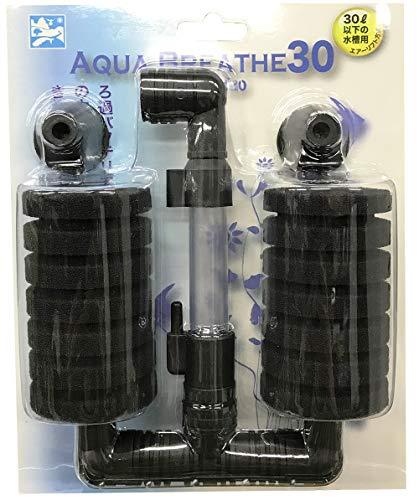 アクアブレス30 水槽ガラス面に吸盤で取り付け可能。