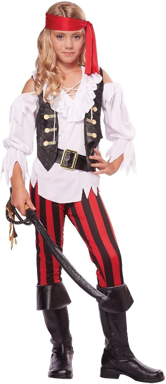 Posh Pirate Girls Costume Size XL