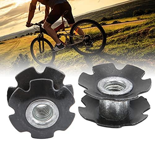 CUTULAMO Star Nut, Auriculares para Bicicleta Star Nut Fácil y Simple de Instalar Cumple con la mayoría de Las especificaciones de Bicicletas con 23.6MM para Ciclismo