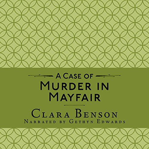 A Case of Murder in Mayfair audiobook cover art