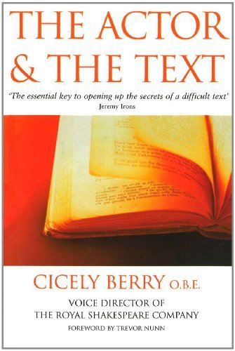 The Actor And The Text (English Edition)