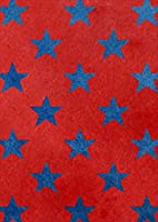 igsticker ポスター ウォールステッカー シール式ステッカー 飾り 841×1189㎜ A0 写真 フォト 壁 インテリア おしゃれ 剥がせる wall sticker poster 012370 赤 青 星