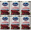 Ocean Spray, Jellied Cranberry Sauce, 14oz Can (Pack of 6)
