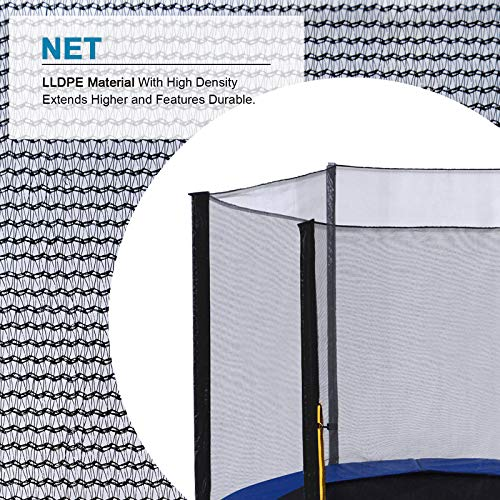 Exacme Outdoor Trampoline with Enclosure Ladder for Kids Heavy Duty High Weight Limit, 15 Foot