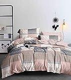 Générique Couette Chaude 600gr/m² 220x240cm Lavable Ultra gonflant Douceur extrême_ M19-52 Rose Poudre