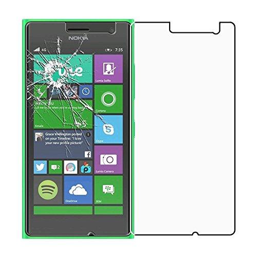 ebestStar - Vetro Temperato Compatibile con Nokia Lumia 735 730 Dual Protezione Schermo Pellicola Anti Shock, Anti Rottura, Anti graffio [Apparecchio: 134.7 x 68.5 x 8.9mm, 4.7'']