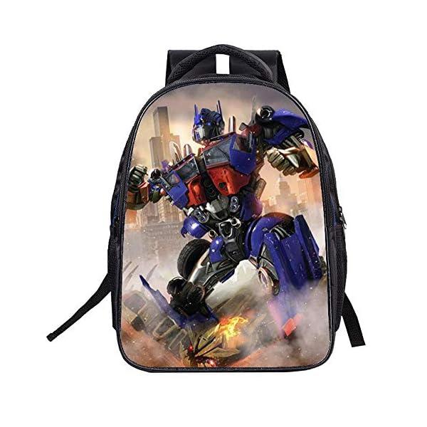 514lSD6PlFL. SS600  - Transformers Mochila para niños Pareja Mochila Universal Mochila Mochila Deportiva de Ocio (Color : A01, Size : 32 X 16…