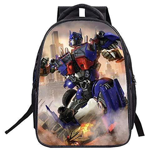 514lSD6PlFL - Transformers Mochila para niños Pareja Mochila Universal Mochila Mochila Deportiva de Ocio (Color : A01, Size : 32 X 16…