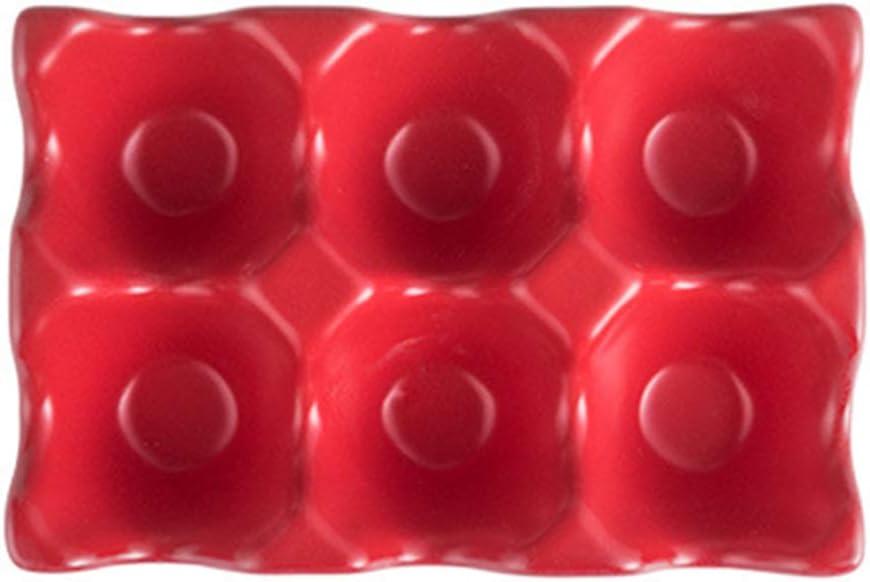 YARDWE Ceramic Egg New Orleans Mall Holder Porcelain Fresh Shockpr Max 69% OFF Box