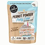 Flavored PB Co. Peanut Butter Powder, Low Carb and Only 45 Calories, All-Natural from US Farms (Party Cake)