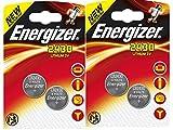 LOT DE 4 PILES ENERGIZER CR2430 - 2 BLISTER DE 2 - LITHIUM 3V