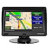Navigatore Satellitare Auto Camion 2021 7 Pollici GPS Navigatore per Auto Autobus Taxi, Precaricato Mappa Europa, Avviso Traffico Vocale, Limite di Velocità, Aggiornamenti gratuiti delle mappe a vita