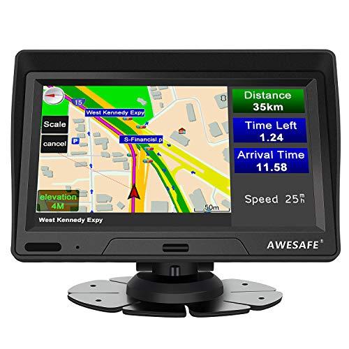 Navigatore Satellitare Auto Camion 2020 7 Pollici GPS Navigatore per Moto Autobus Taxi, Precaricato...