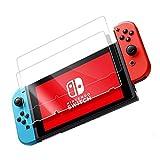 GEMYON Vidrio Templado Nintendo Switch [2Piezas] protección DBPOWER–Pantalla Film antiarañazos Protector para Nintendo Switch–[5d/9H Dureza]–Transparente