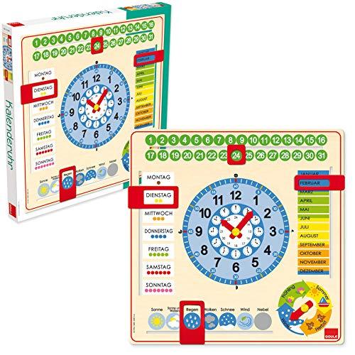 Jumbo Spiele GOULA Große Kalenderuhr Bild