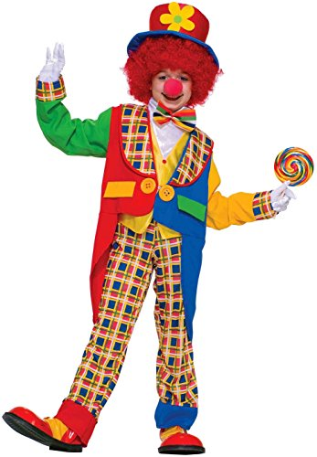 Forum Novelties Clown On The Town Costume, Large
