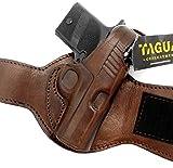 TAGUA Premium Dark Brown Leather Ankle...