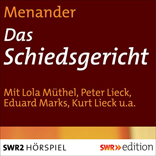 Das Schiedsgericht audiobook cover art