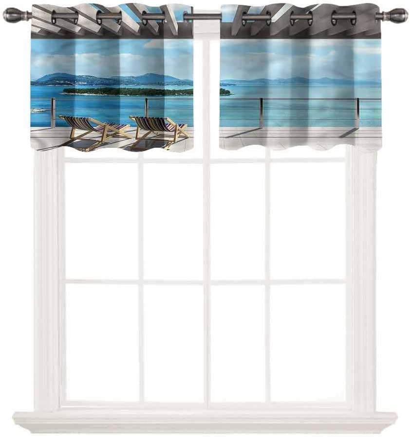 SoSung Solid Grommet Top Blackout Bargain Treatme Window Curtain 100% quality warranty! Valance
