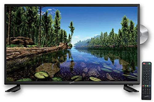 SuperSonic SC-3222 LED Widescreen HDTV 32', Built-in DVD Player with HDMI & AC Input: DVD/CD/CDR High Resolution and Digital Noise Reduction