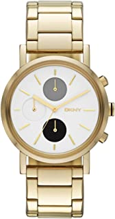 DKNY Womens Quartz Watch, Analog Display and Stainless Steel Strap NY8256