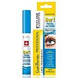 Eveline Cosmetics Multi-purpose Eyelash Serum Total Action 8 in 1, 0.33 Fluid Ounce