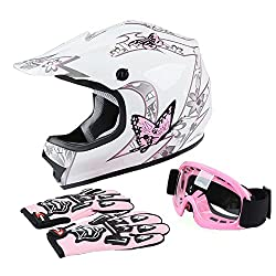 professional XFMTDOT Youth Children Motocross Off-Road Street Bike Helmet Youth Motorcycle ATV Helmet…
