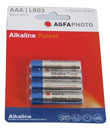 AgfaPhoto 59867Pack 10Batterien Alkaline Universal LR3/AAA 1100mAh