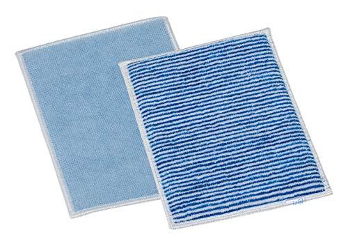 limpando Microfaser Borstenpad - Reinigungstuch/Schwamm für Küche/Bad/WC - Trocknen/Schrubben von Glas, Fenster, Kochplatten, Waschbecken, Badewannen - Fleckweg-Handschuh-Reinigungshandschuh