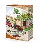 Pro Natur Hochbeet Dünger 2,5 kg 7+4+7 Düngung aus natürlichen, biozulässigen Rohstoffen, Profimischung mit Hornspänen
