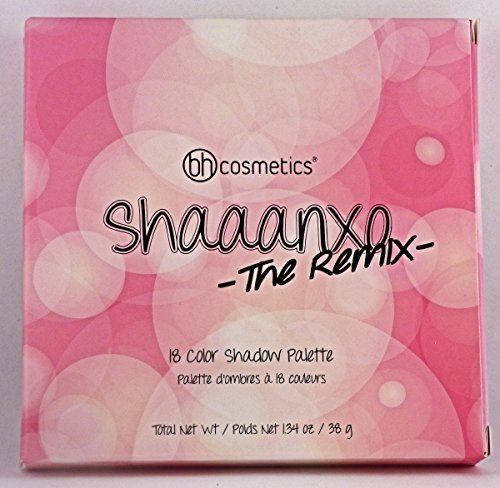 BH Cosmetics 18 Color Eyeshadow Palette, Shaaanxo The Remix