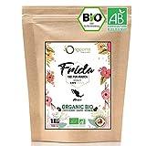 ☘️ BIO Kaffeebohnen 1kg   Biologische Arabica Kaffee Ganze Bohnen   Single Origin Mexiko Frida   Säurearm   Traditionelle Röstung