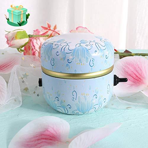 InLoveArts Mini máquina de rueda de cerámica, 2000 rpm Mini máquina de cerámica DIY Rueda de cerámica eléctrica Herramientas de arcilla para niños adultos Arte de cerámica con bandeja